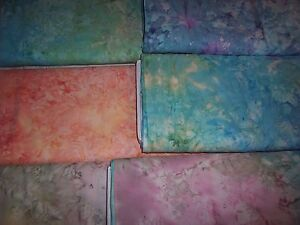 INCREDIBLE-Monet-marble-batik-fabrics-100-cotton-from-India
