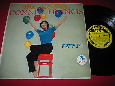 UK IMPORT LP - THE EXCITING CONNIE FRANCIS (1959) RAY ELLIS - MGM -C-786