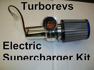 ELECTRIC TURBO SUPERCHARGER KIT 49CC 50CC SCOOTER MOPED PIT DIRT MINI MOTO BIKE