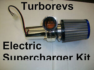 ELECTRIC-TURBO-SUPERCHARGER-KIT-49CC-50CC-SCOOTER-MOPED-PIT-DIRT-MINI-MOTO-BIKE