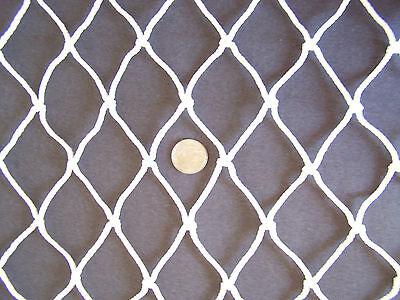 13' X 13' Horse Hay Feeder Net White Nylon Netting 2 48 480 Lbs Test