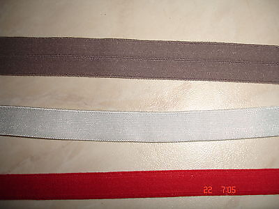 elastisches Band 0,24€/m 10 Meter MN32 rot