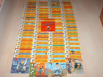 komplette Lucky Luke Sammlung 75 Bände Band 15-89 1A Zustand!!!