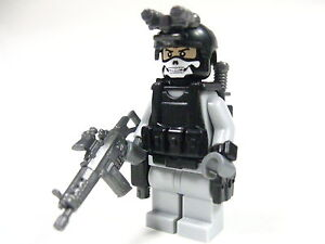 Lego-custom-Marine-Navy-Seal-Army-Delta-trooper-Army-Soldier-Dessert-GRAY