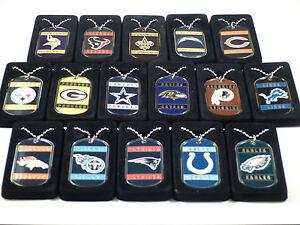 Official-NFL-Licensed-Neck-Tag-Dog-Tag-Necklace-Most-Teams