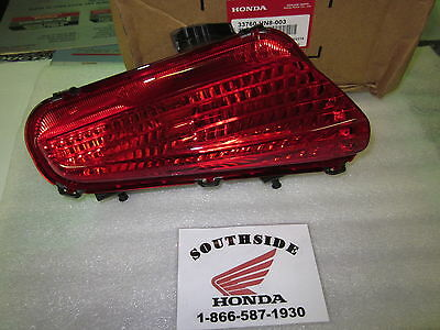 GENUINE HONDA LEFT TAILLIGHT LENS