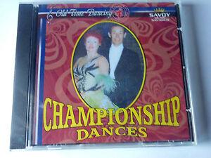 BALLROOM DANCING   CD ALBUM   CHAMPIONSHIP DANCES sydney thompson,harry davidson
