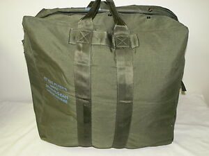 US-AIR-FORCE-USAF-FLYERS-KIT-BAG-AVIATOR-PILOT-GENUINE-US-Military-Nylon-VG
