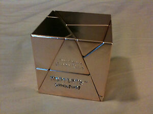 Mefferts-Tony-Fishers-Golden-Cube-Copper-electroplated-VERY-rare-puzzle