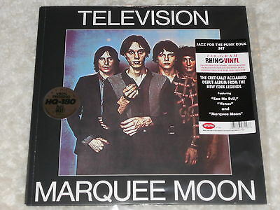 Television Marquee Moon 180g Lp Sealed Vinyl