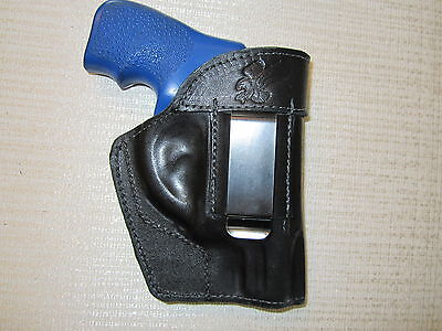 Ruger Lcr Formed Ambidextrous Leather Revolver Holster Right Hand Or Left Hand