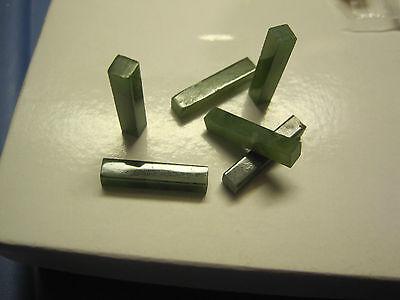 48 Genuine Jade Bars 20x4mm Neat ! (118
