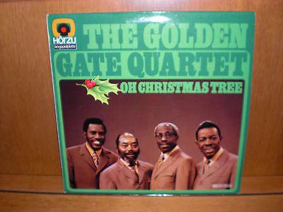 "The Golden Gate Quartet - Oh Christmas Tree  12"" LP"