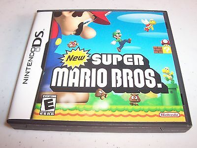 New Super Mario Bros. Brothers Nintendo DS Lite DSi XL 3DS Complete