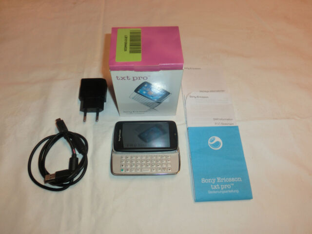 Sony Ericsson CK15i txt pro Schwarz, in OVP, ohne Simlock, 1 Jahr Garantie