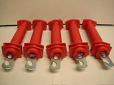 Dare - Electric Fence Gate Handles - Red - Plastic - Model 503 ( 5 )