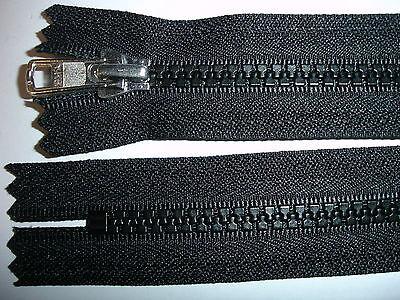 RV 327 - Reißverschluß schwarz ykk 14 cm lang, 2 Stück