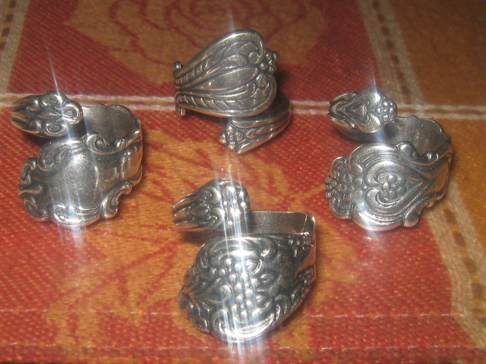 wholesale lot 4 rings vintage ... Image 1