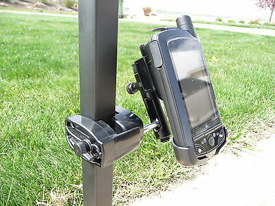 Golf Cart Gps Mount / Holder For Skycaddie Sgx Sg5 Sg2.5 Stop Using Suction Cup