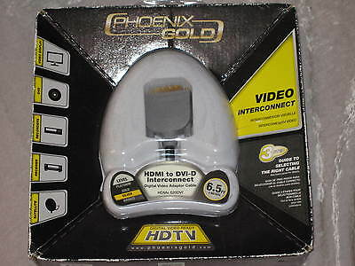 Phoenix Gold Hdtv Hdmi To Dvi Video Cable Satellite Dvd 6.5 Ft Receivers