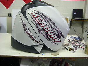 Mercury Verado Four Stroke 250 - 300hp Decal Kit