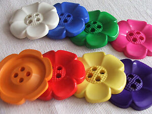 1-x-Extra-large-62mm-jumbo-acrylic-flower-button-in-choice-of-colours