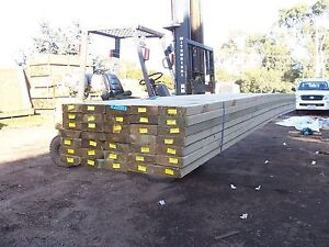 140 x 45 Treated Pine F7 MPG 10,  Rails Pickets Rafters Merbau Joists