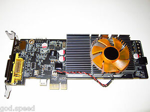 HP Compaq dc5100 dc5700 SFF Low Profile Half Height 512MB PCI-E x1 HD Video Card