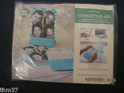 Hallmark Newsletter Set Laser Print Your Own Newsletter Makes 18 Letters Pgx4463