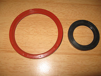 Triumph Tr7 Stag Front & Rear Oil Seals Crankshaft Timing Cover