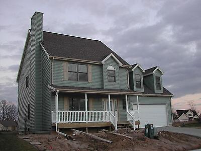 Prefab Home Kit Large 3 Bedroom 2.5 Bath Garage by Landmark Home and Land Co