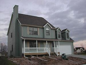 panelized home kit with bonus room and garage prefab house home
