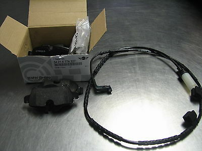 Mini Cooper S 07-2010 Rear Brake Pads And Sensor OEM