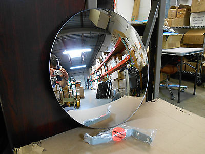 "18"" Indoor Industrial Acrylic Convex Security & Safety Mirror on Rummage"