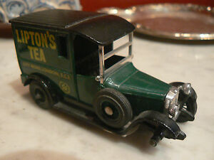 ancienne petite voiture miniature lesney matchbox camion talbot van lipton 9 5cm ebay. Black Bedroom Furniture Sets. Home Design Ideas