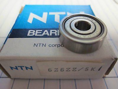 Ntn Bearings 626zz / 5k ..................................... Xx-15