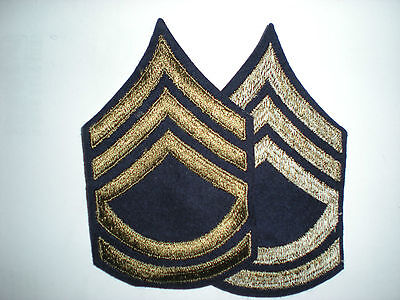 Us Army Wwii Sergeant First Class Stripes -original-- 1 Pair