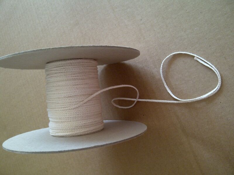 10 Yards Flat Braid 30 Ply Candle Wick