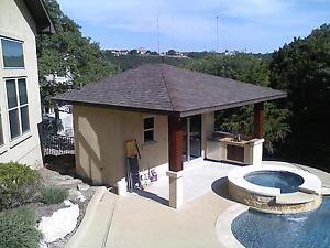 Pool House / Cabana / Guest House / Outdoor Kitchen / Bar, 17' wide  x  23' deep