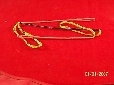 Oneida Hawk Bow String 41 Flo Green & Flo Orange 14 Strand B50