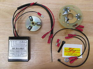 KIT54 BSA A75 ROCKET 3 TRIUMPH T150 T160 TRIDENT TRIPLE BOYER IGNITION KIT