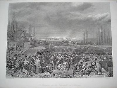 Attaque de la Citadelle d´Anvers  Belgien  Zitadelle Antwerpen Vernet Colin 1832