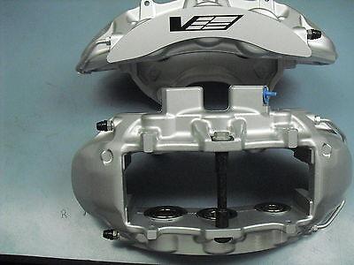 CTS-V CTSV Silver 6 Piston Front Calipers Pair New GM 25912967 25912477 Cadillac
