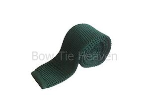 GREEN SKINNY KNITTED TIE mods collection