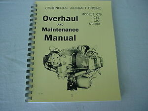 Continental O 200 Overhaul Manual