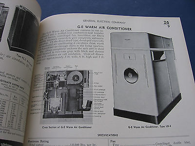 GENERAL ELECTRIC Catalog ASBESTOS OIL FURNACE