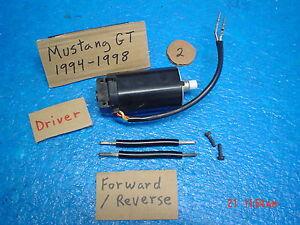 1998 Ford Mustang Gt Lh Power Seat Motor Forward Reverse