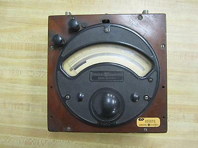 General Electric 888510 Antique Amp Meter Vintage Antique 39006
