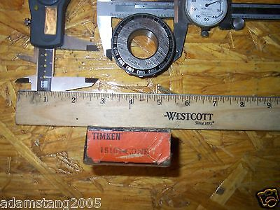 Timken 15101 Tapered Cone Bearing