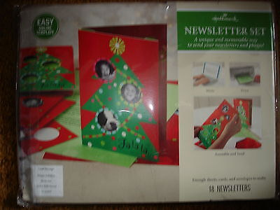 Hallmark Newsletter Set Memorable Way To Send Newsletters And Photos Christmas T